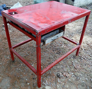 H d Shop Welding Table W Drawer Leveling Bolts pick Updelivery
