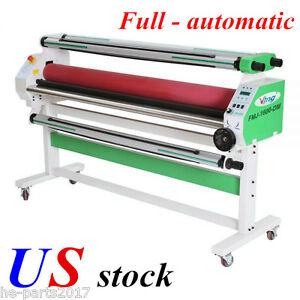 Us 110v 60 Economical Full auto Wide Format Cold Laminator With Heat Assisted