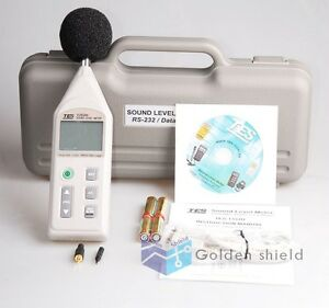 Tes 1352s Digital Programmable Sound Level Meter Noise Tester 30 To 130db