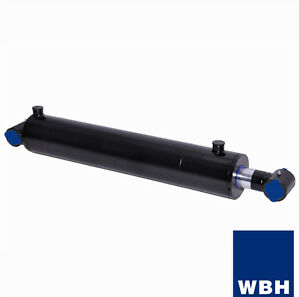 3 5 Bore 30 Stroke Cross Tube Wbh Hydraulic Cylinder Welded Double Acting