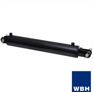 4 Bore 36 Stroke Clevis End Wbh Hydraulic Cylinder Welded Double Acting