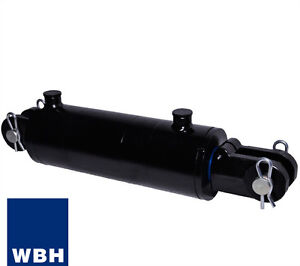 3 Bore 14 Stroke Clevis End Wbh Hydraulic Cylinder Welded Double Acting