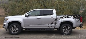 Predator Mudslinger Side Truck Bed Vinyl Decal Graphic Stripes Chevy Colorado
