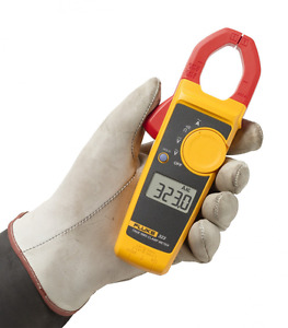 Fluke 323 True rms Clamp Meter Measures Ac Current To 400 Amp Ac