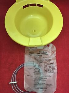 New Case Of 10 Medical Action Sitz Bath With Bag Gold H990 05