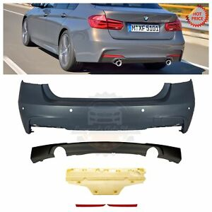 2012 2018 Mtech Msport M Sport Rear Bumper With Pdc For Bmw F30 335 Dual Cutouts
