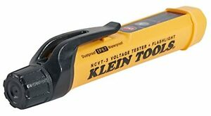 Meter Test Voltage Tester New Non Contact Led Bar Graph Tools Klein W Flashlight