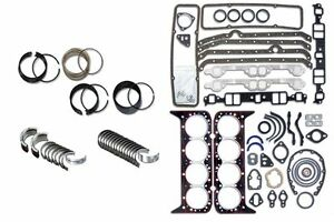 Chevy Gm 395 6 5l V8 Diesel Engine Rering Kit 1992 2002