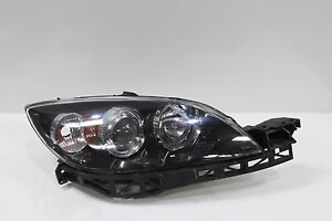 L70724 2004 2006 Mazda 3 Headlight Halogen Passenger Side Oem