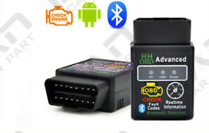 Scanner Code Reader Bluetooth Can Obd2 Scan Tool For Torque Android Elm327