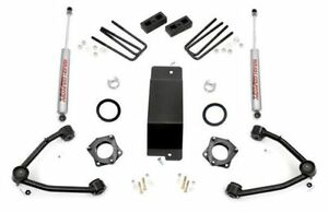 14 16 Chevy gmc 1500 4wd 3 5 Rough Country Lift Kit W Shocks Aluminum Arms