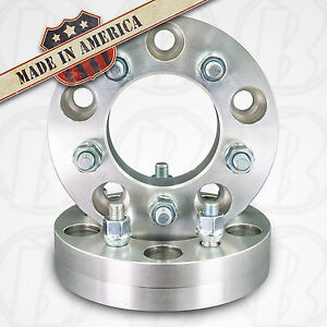 Usa Made 5 Lug 4 75 To 5 X 4 5 Wheel Adapters Spacers 1 25 1 2 x20 Studs