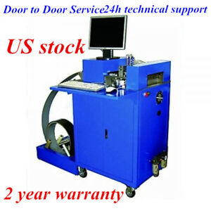 Us ving Cnc Notching Notcher Machine For Metal Channel Letter Single Side Notch