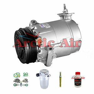 A C Compressor Kit With Clutch Fits 02 05 Pontiac Grand Am 2 2l New Auto 68280