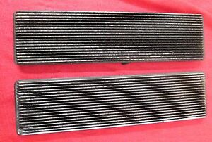 Camaro Hood Louvers 1967 1968 Camaro One Pair Used