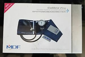 Mdf Instruments Mdf808b04 Professional Aneroid Sphygmomanometer navy Blue new
