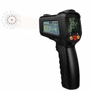 Dr meter Fda Approved Non contact Digital Laser Ir Infrared Thermometer Gun with