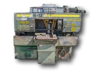 Hyd mech H 12 12 X 12 Metal Band Saw