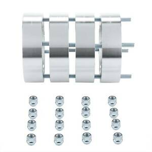 4pcs Fit Jeep 5x5 Wheel Spacers Wrangler Grand Cherokee Wj Wk Xk Jk Hubcentric