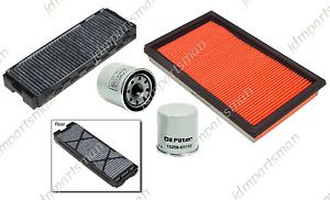 2 Cabin 1 Air 2 Oil Filter 5 Pc Set Fits 2000 2003 Maxima I30 I35