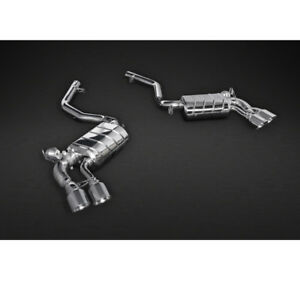 Capristo Bmw X6m Valved Exhaust With Pipes Ces 3 Remote Kit 2014
