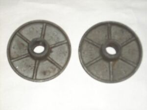 1 Pair Fan Drive Hubs John Deere Unstyled Styled D Tractor