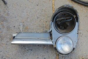 1957 Lincoln Premiere Head Light Housing Hotrod Ratrod A T 32 34 50 51