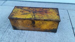 Vintage Case Farm Tractor Tool Box