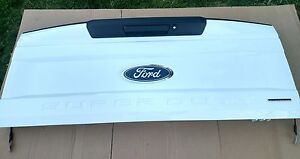 2017 Ford F 250 Super Duty Flex Fuel Tailgate White Complete