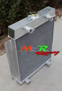 Aluminum Alloy Radiator Ford Car Flathead V8 Engine M T 1949 1953 3row