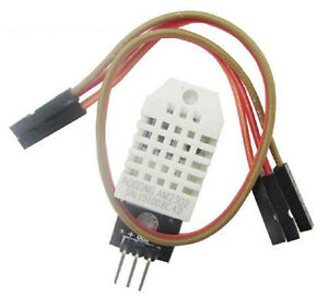 10 Pcs Dht22 Digital Temperature Humidity Sensor Am2302 Module With Pcb cable