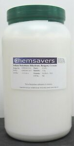 Sodium Molybdate Dihydrate Reagent 99 98 Crystals 2 5kg