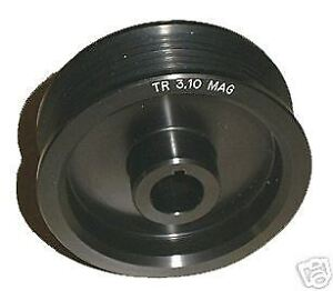 2 85 Magnacharger Radix Style 6 Rib Supercharger Pulley 04 06 Chevy Corvette