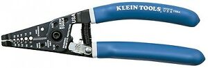 Klein Tools Wire Stripper Cutter With Solid And Stranded Wire Screw shearing