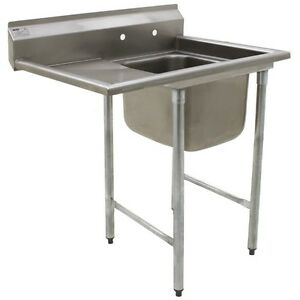 Eagle 412 24 1 24r One Bowl Sink With Drainboard 31 3 4 X 52 3 4