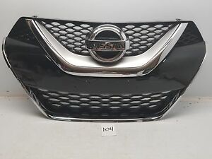 Nissan Maxima 2016 2017 16 17 Front Grille W Chrome Frame And Emblem Oem
