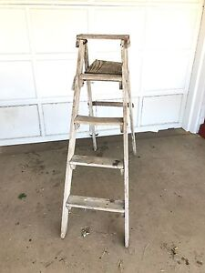 Vintage Painters Ladder