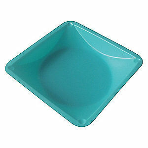 Lab Safety Supply Polystyrene Weighing Dish blue 7 8in d pk500 38xj85 Blue