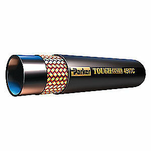 Parker Hannifin Hydraulic Hose Assembly 1 4 In 50 Ft 451tc 4 bx