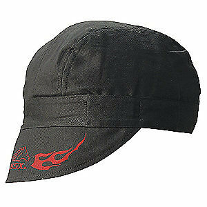 Bsx Welding Cap cotton black pk12 Bc5w bk Black