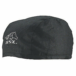 Bsx Welding Beanie Cap cotton black pk12 Bc5b bk Black