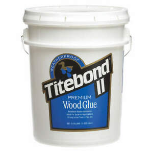 Titebond Wood Glue 5 Gal honey Cream 5007 Honey Cream