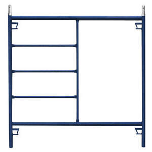 Metaltech Steel plastic Scaffold Frame 60 H 750 Lb M mf6060ps