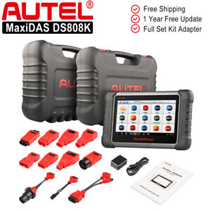 Autel Maxidas Ds808k Pro Auto Diagnostic Scan Tool Obd2 Code Reader Better Mk808