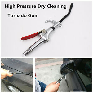 High Pressure Portable Dry Cleaning Gun For Car Off Road Small Gap Dust Washer