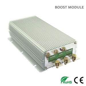New 12v To 24v 50a 1200w Dc Converter Step up Boost Power Supply Module Car