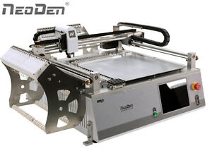 Smt Desktop Pick And Place Machine With Vision System Neoden3v adv j