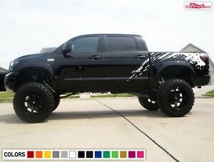 Decal Sticker Graphic Vinyl Side Bed Mud Splash For Toyota Tundra Sport 2012 18