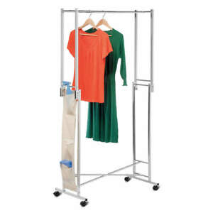 Honey can do Steel Double Folding Garment Rack Gar 01433