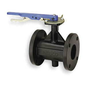 Nibco Butterfly Valve lever 3 In cast Iron Fc27653 3